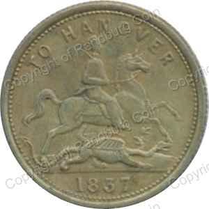 Great Britain - 1837 Queen Victoria to Hanover Token